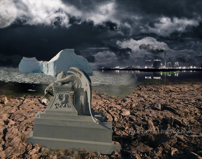 The Last Iceberg Surreal Photo