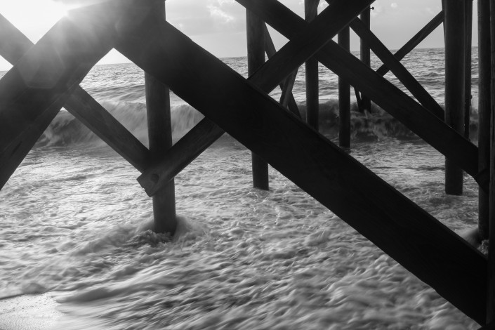 View through the Pier