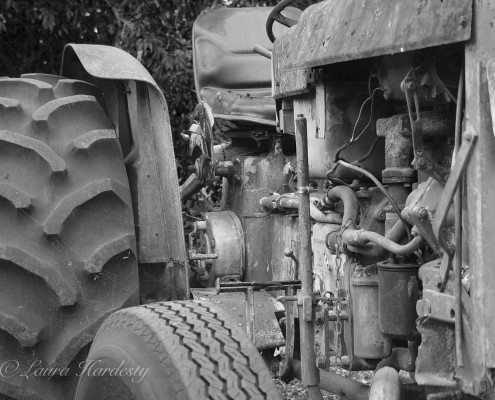 Tractor photo by Laura Hardesty